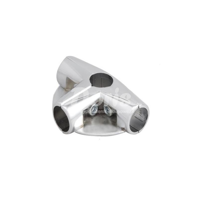 Złącze trzyramienne z dwoma półkami do rury fi 25 mm TR583-0