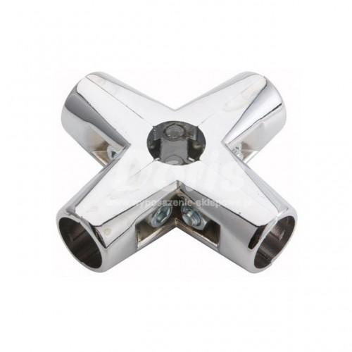 Złącze czteroramienne do rury Ø 25 mm