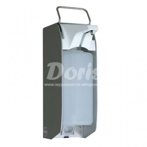 Metalowy dozownik bezdotykowy płynów dezynfekcyjnych ze zbiornikiem 1000 ml