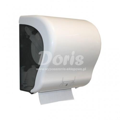 Mechaniczny podajnik ręczników papierowych w rolach