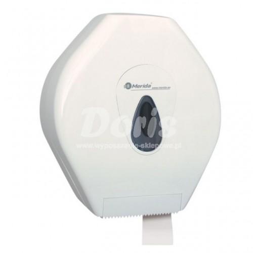 Pojemnik na papier toaletowy z szarym okienkiem BTS001/MER