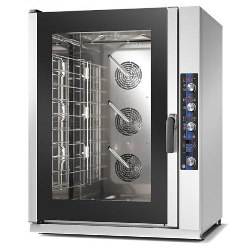 Piec konwekcyjno-parowy 12xGN1/1 z systemem myjącym o mocy 15,8 KW PF9110W