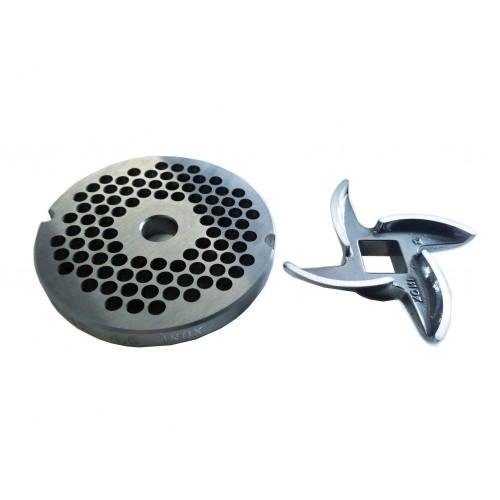 Sitko z nożykiem 4,5 mm do wilka, maszynki do mielenia mięsa TC 12 Ma-Ga serwis, części