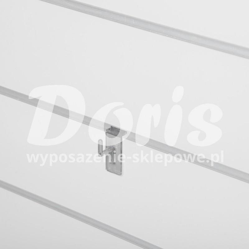 Wieszak o długości 2 cm wykonany z plexi SW619-0