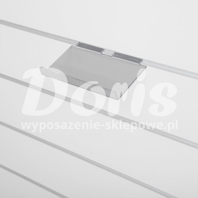 Półka pochyła wykonana z plexi SW614-0