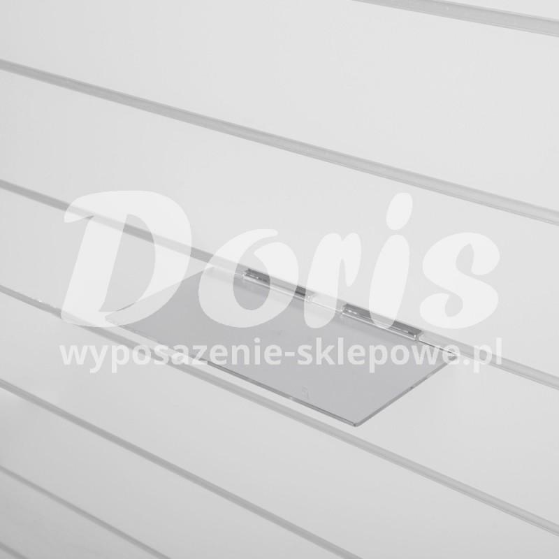 Półka o długości 20 cm wykonana z plexi SW613-A