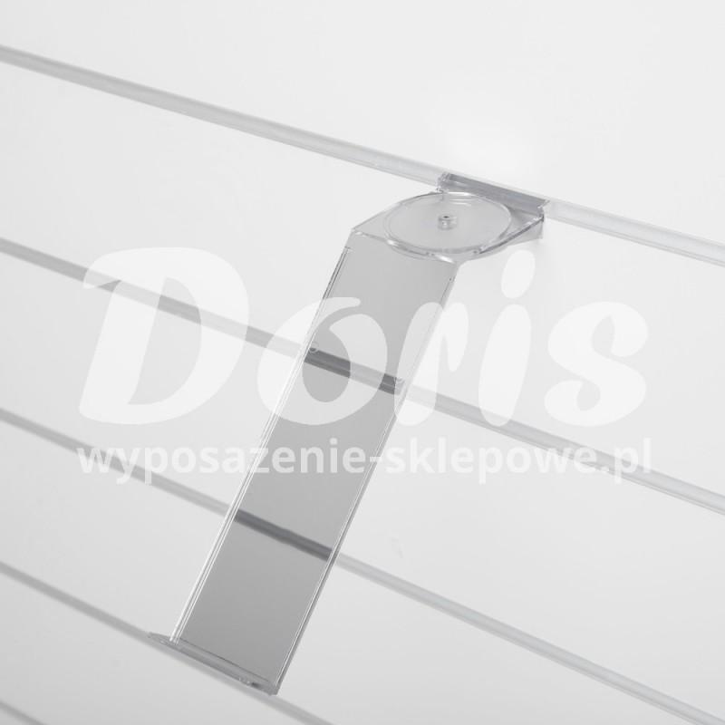 Półka obrotowa do butów lekkich o długości 25 cm wykonana z plexi SW643-0