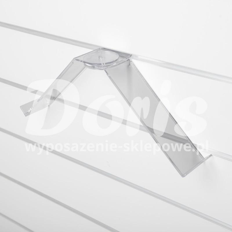 Podwójna półka obrotowa do butów o długości 25 cm wykonana z plexi SW644-0
