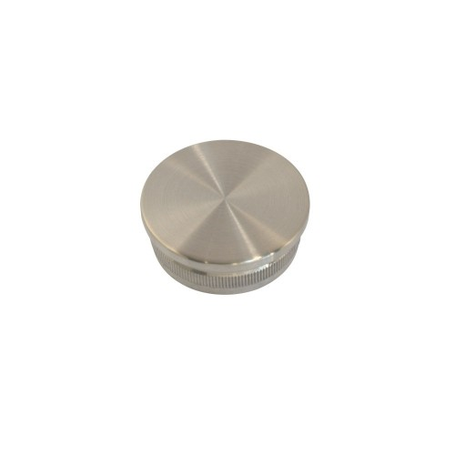 Zaślepka płaska ze stali nierdzewnej do rury fi 42.4 mm PR738-0