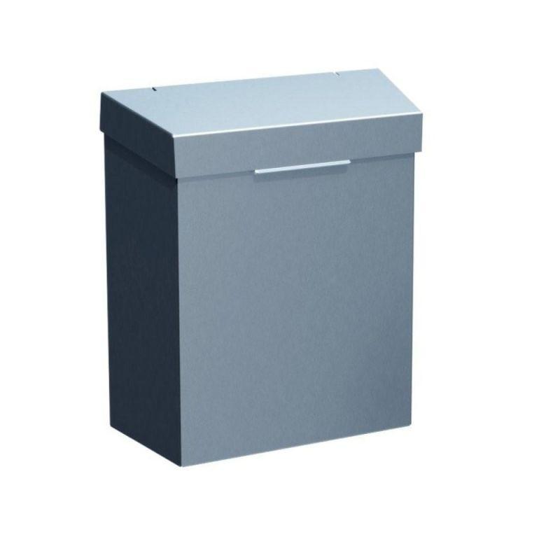 Kosz do damskich toalet ze stali matowej o pojemności 4,5 litra KSM301/MER
