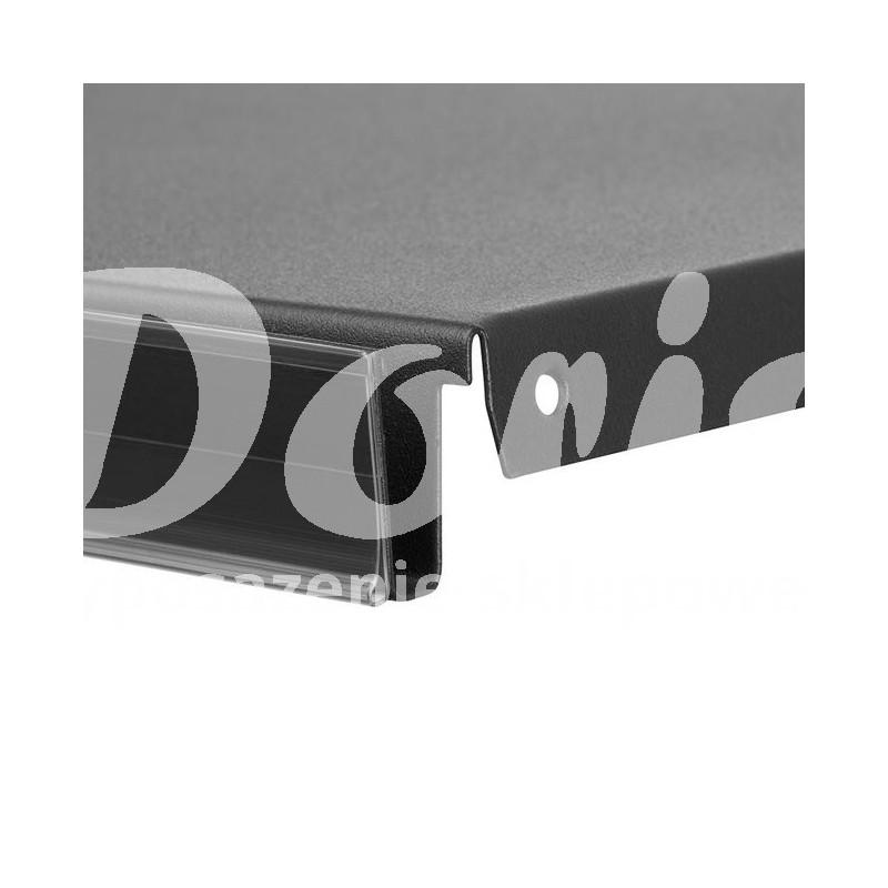 Listwa cenowa szeroka do regałów na mocnej piance samoprzylepna h-60 mm o długości 1000 mm DBR60