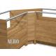 Lada narożna wewnętrzna o wymiarach 65x65x90 cm LNW-2/ALB