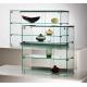 Gablota szklana o wymiarach 90x30x60 cm AL 12/ALB