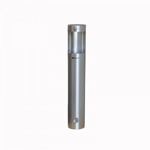 Popielnica wisząca ze stali matowej zamykana na kluczyk KIM803/MER