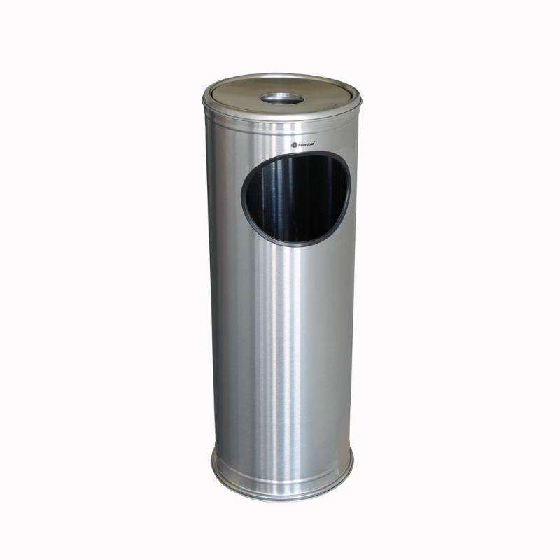Popielnica stojąca ze stali matowej KIM802/MER