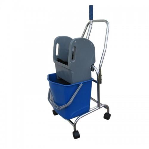 Wózek do sprzątania jednowiadrowy z wiadrem o pojemności 17 litrów HFW101/MER