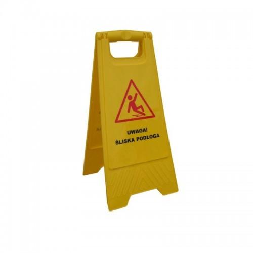 """Tablica ostrzegawcza """"Uwaga! Śliska podłoga"""" HFA001/MER"""