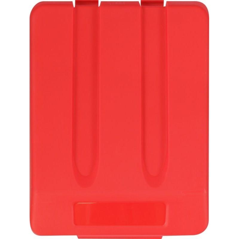 Pokrywa do kosza o pojemności 33 litrów w kolorze czerwonym KJR905/MER