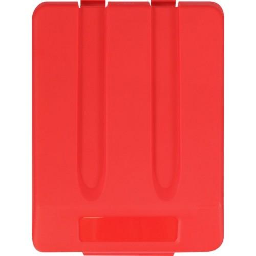 Pokrywa do kosza o pojemności 33 litrów w kolorze czerwonym KJR905