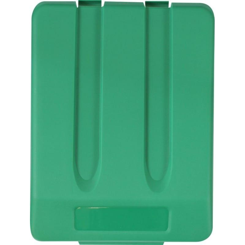 Pokrywa do kosza o pojemności 33 litrów w kolorze zielonym KJZ906/MER