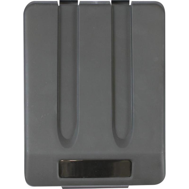 Pokrywa do kosza o pojemności 33 litrów w kolorze czarnym KJC905/MER