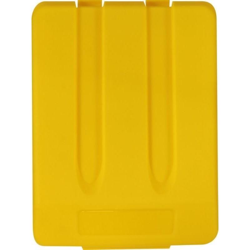 Pokrywa do kosza o pojemności 33 litrów w kolorze żółtym KJY905/MER
