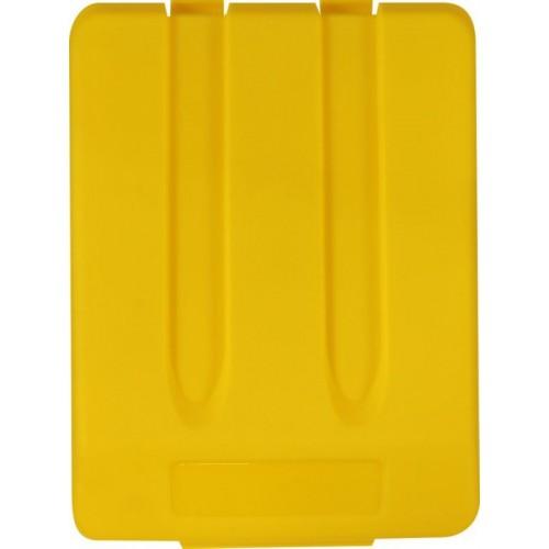 Pokrywa do kosza o pojemności 33 litrów w kolorze żółtym KJY905