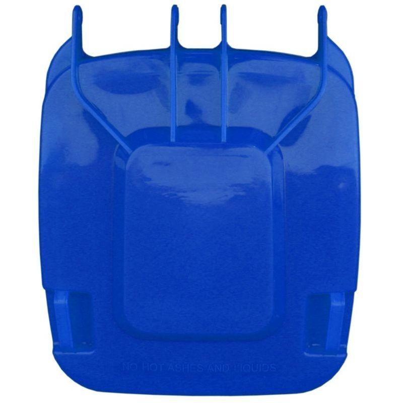 Pokrywa do kosza o pojemności 240 litrów w kolorze niebieskim KJN913/MER
