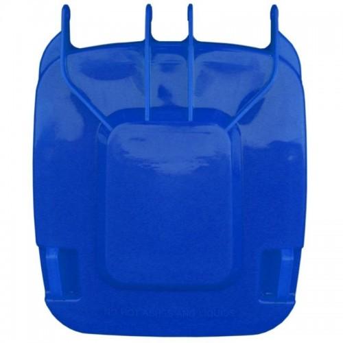 Pokrywa do kosza o pojemności 240 litrów w kolorze niebieskim KJN913