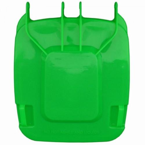 Pokrywa do kosza o pojemności 240 litrów w kolorze zielonym KJZ913
