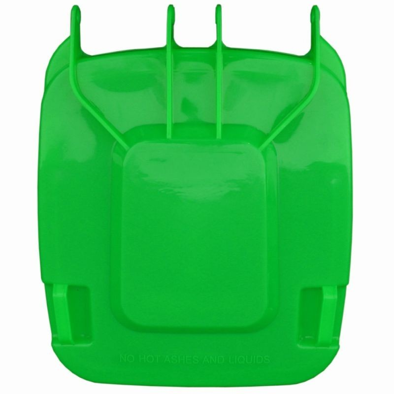 Pokrywa do kosza o pojemności 240 litrów w kolorze zielonym KJZ913/MER