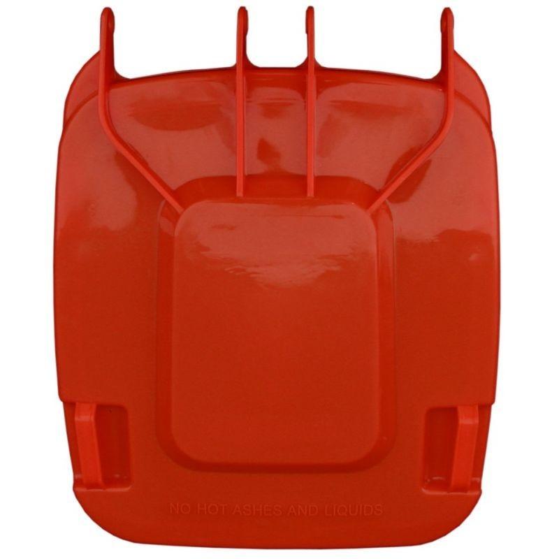 Pokrywa do kosza o pojemności 240 litrów w kolorze czerwonym KJR913/MER