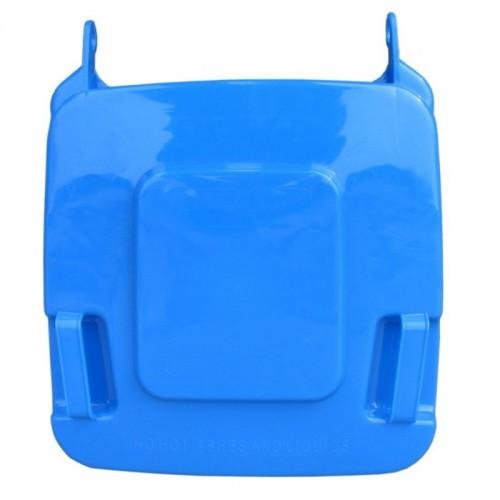 Pokrywa do kosza o pojemności 120 litrów w kolorze niebieskim KJN912