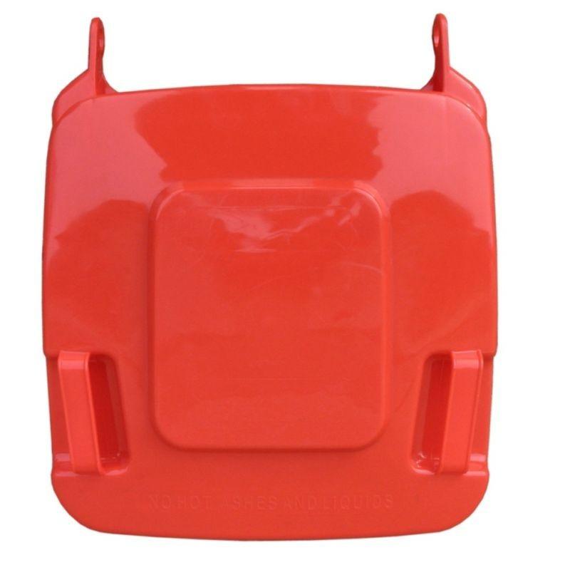 Pokrywa do kosza o pojemności 120 litrów w kolorze czerwonym KJR912/MER
