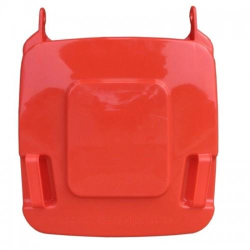 Pokrywa do kosza o pojemności 120 litrów w kolorze czerwonym KJR912
