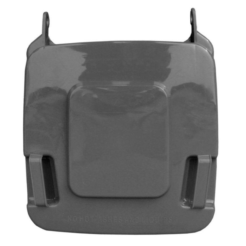 Pokrywa do kosza o pojemności 120 litrów w kolorze szarym KJS912/MER