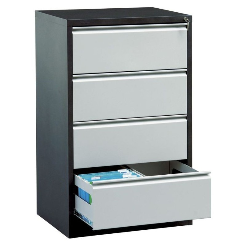 Szafa kartotekowa 4 szufladowa na teczki format A4 77,8 cm TG-SDK-2A4/4S
