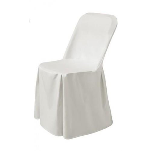 Pokrowiec na krzesło Excellent - biały