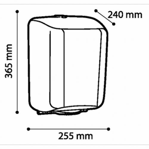 Podajnik ręczników w roli MIDI ZEN
