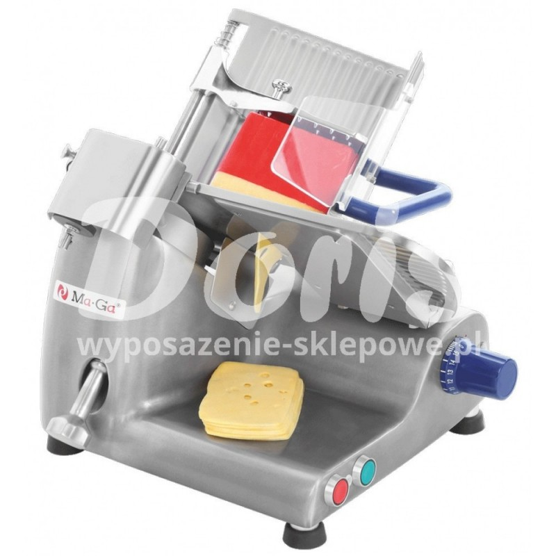 Krajalnica do serów 210pT do sklepu, gastronomii Ma-Ga o średnicy noża 250 mm
