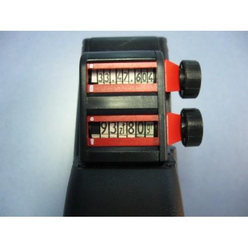 Metkownica dwurzędowa alfanumeryczna BLITZ C17A ME0011