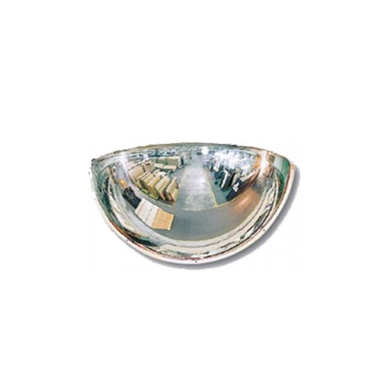 Lustro akrylowe do sklepu sferyczne 1/4 kuli o średnicy 60 cm LP1/460CM