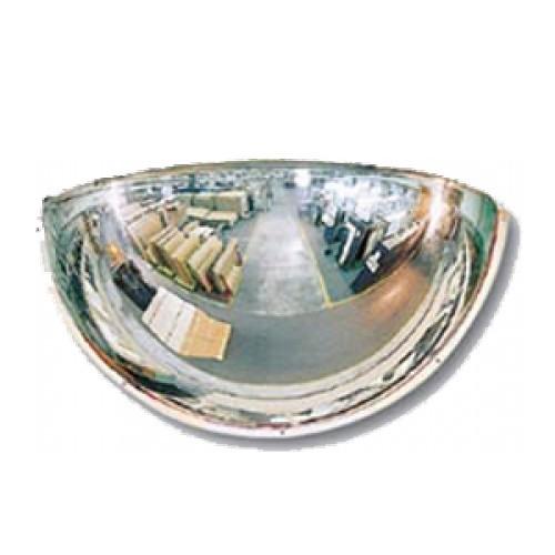 Lustro akrylowe do sklepu sferyczne 1/4 kuli o średnicy 80 cm LP1/460CM