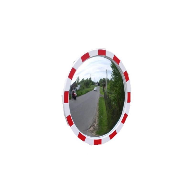 Lustro drogowe poliwęglanowe o średnicy 80 cm