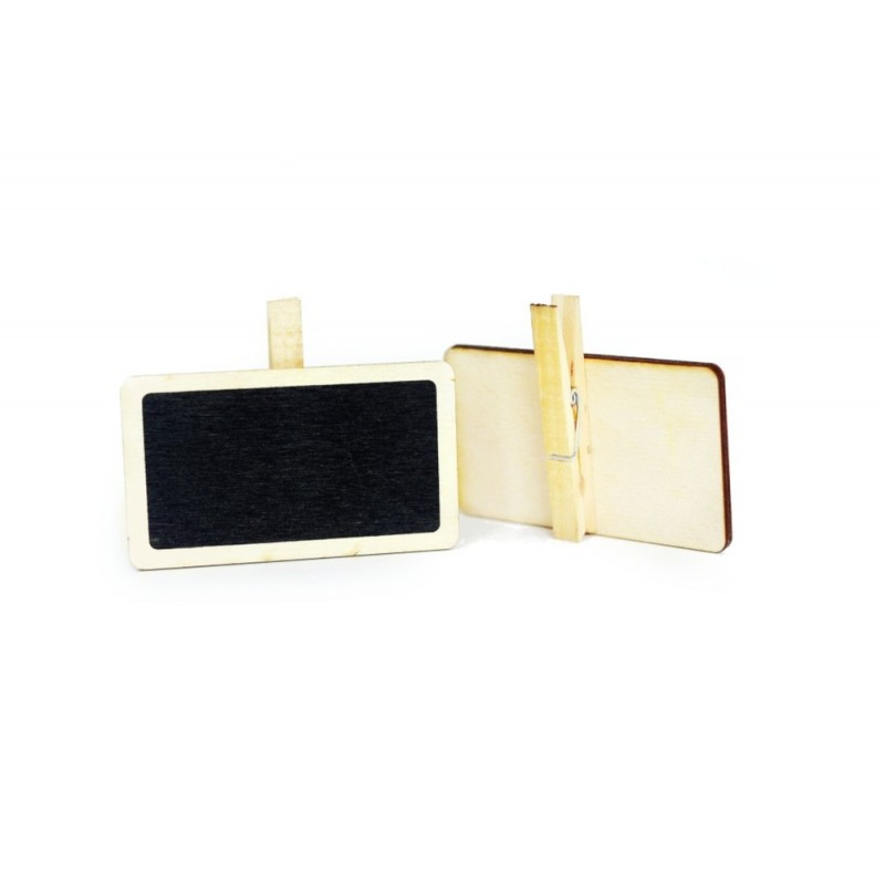Mini tabliczka kredowa o wymiarach 95x55 mm 95x55