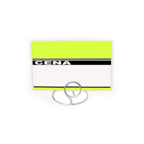 Etykiety cenowe laminowane różne kolory o wymiarach 60x95 mm 60x95-01