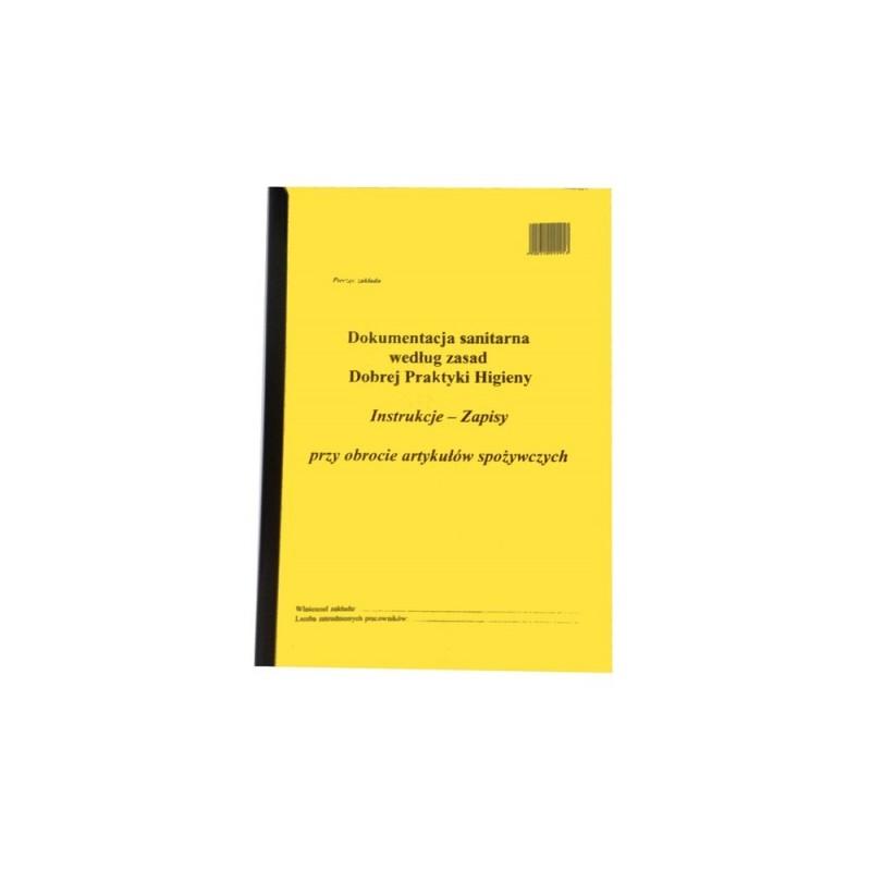 Dokumentacja HACCP - procedura dobrej praktyki w sklepach spożywczych TA0158