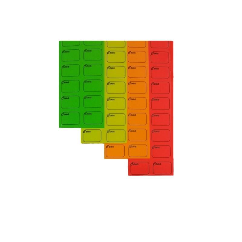 Ceny samoprzylepne na pasku RC0005/RC0008/RC0007/RC0006