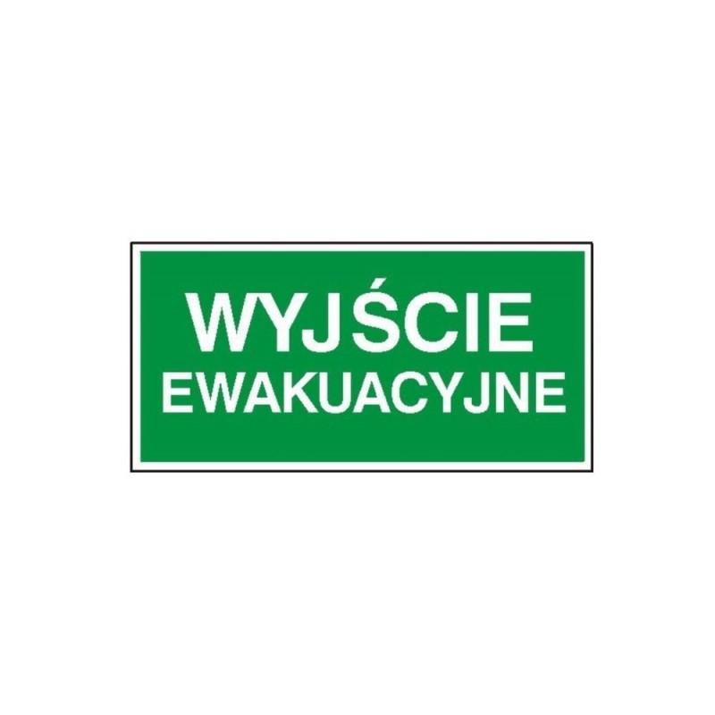 """Znak """"Wyjście ewakuacyjne"""" TA0124"""