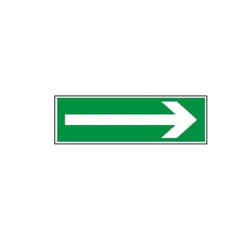 """Znak """"Kierunek drogi ewakuacyjnej"""""""